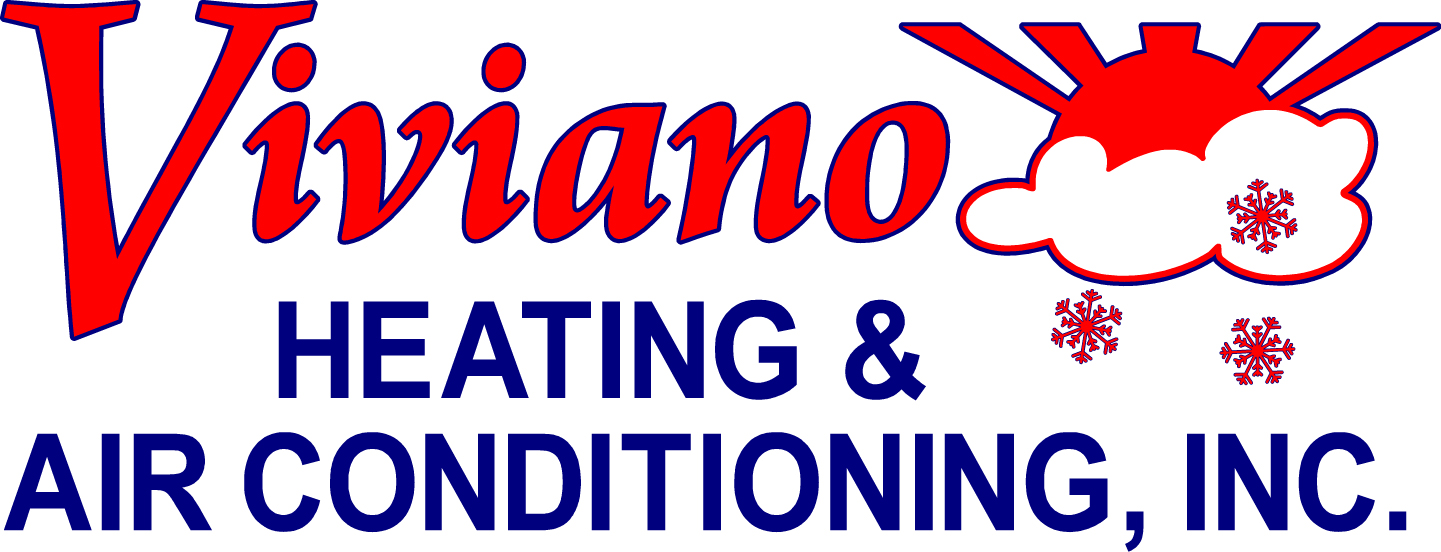 Red and blue viviano logo
